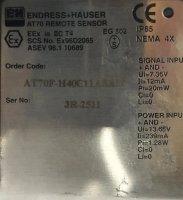 Endress+Hausser Thermisches Massedurchflussmessgerät...