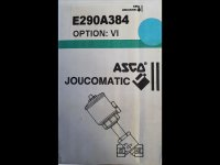 Jucomatic Asco Schrägsitzventil 1/2 Zoll Messing E290A384 VI