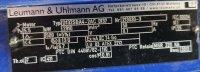 Leumann & Uhlmann Fußmotor 5,5 KW EEX Typ...