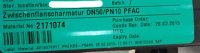 Neotecha Absperrklappe mit Hebel DN 50 PFAC