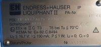 Endress + Hauser Füllstandmessung Liquiphant II FDL31-GBG7ABR0250