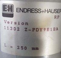 Endress + Hauser Füllstandmessung 11302ZPDY9B1BA 250 mm