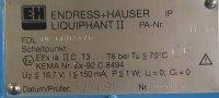 Endress + Hauser Füllstandmessung Liquiphant II...