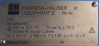 Endress + Hauser Füllstandmessung Liquiphant II FDL31-GBD2AA7R 0250
